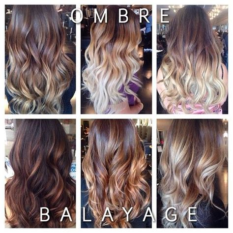 melt vs ombre the difference is between ombr 233 and balayage ombres where
