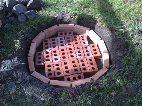 how to make a fire pit in your backyard build your own fire pit exle outdoor decorations