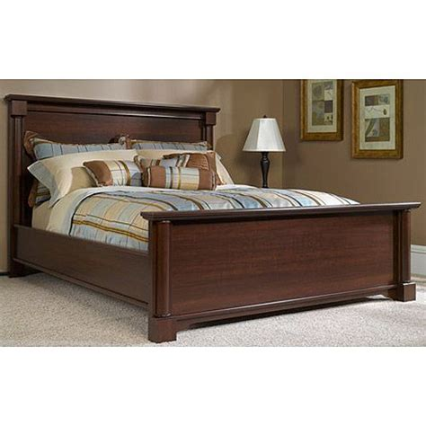 better homes and gardens ashwood road bed queen cherry
