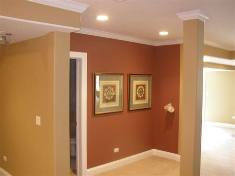 Attractive Maroon Living Room #7: Elegant-Wall-Decoration-with-Best-Interior-paint-in-Brown-also-Maroon-Color-Design.jpg