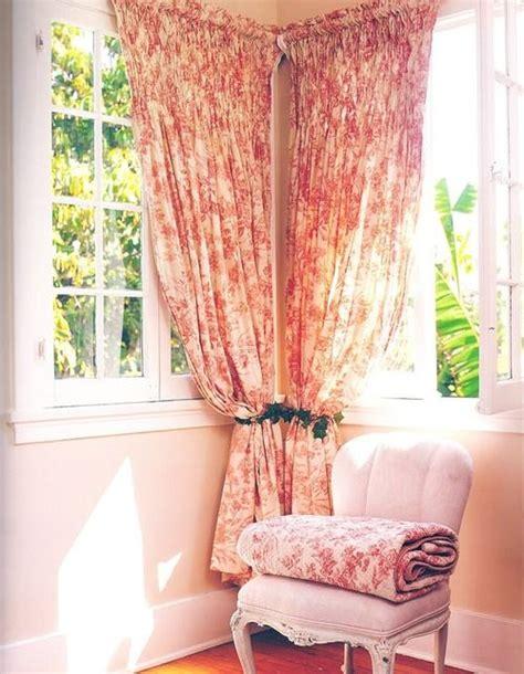 corner window curtain rod set best 25 corner curtains ideas on