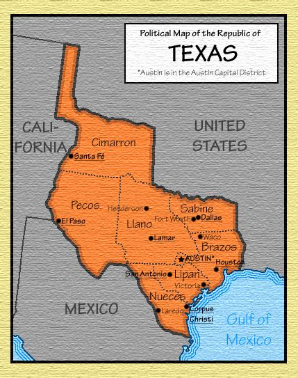 the republic of texas map republic of texas pictures posters news and on your pursuit hobbies interests and