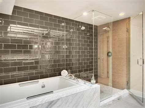 modern master bathroom contemporary bathroom other metro by rw anderson homes