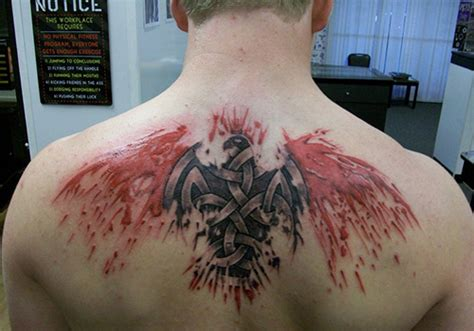 blood eagle tattoo 25 different celtic tattoos for creativefan