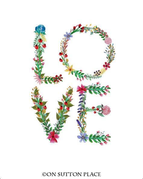 printable alphabet letters with flowers floral alphabet printables