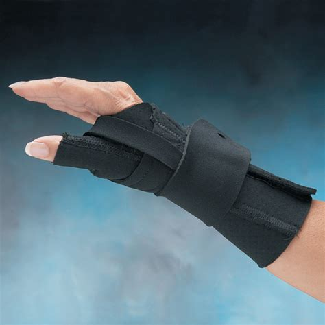 cool comfort comfort cool wrist and thumb cmc splint north coast medical