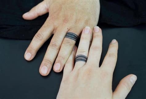 ring finger tattoo for couples 18 couple tattoo designs ideas design trends premium