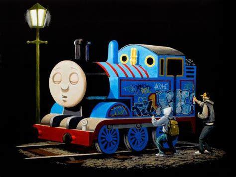 graffiti  sleeping cartoon train posters  allposterscom