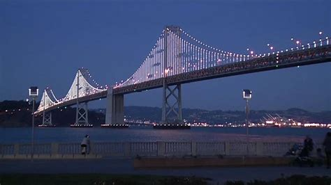 bay bridge light bay bridge light installation set to in january