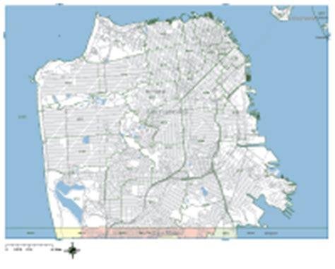 san francisco map vector free san francisco digital vector maps editable