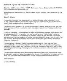 Literacy Tutor Cover Letter by Cover Letter For Teaching Cover Letter