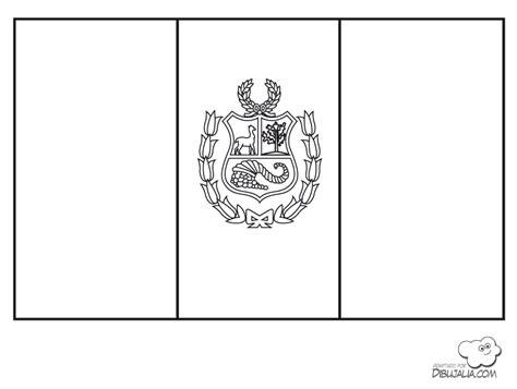 la bandera de peru para colorear dibujos del per 250 para colorear