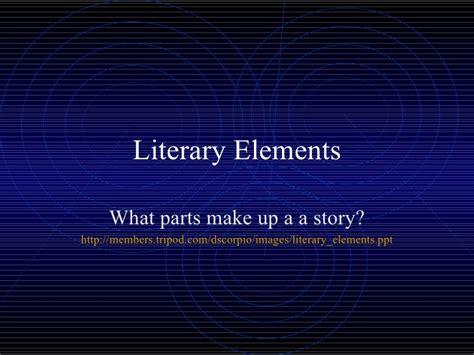 theme in literature slideshare literary elements theme