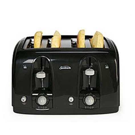 big lots kitchen appliances sunbeam 174 4 slice toaster big lots