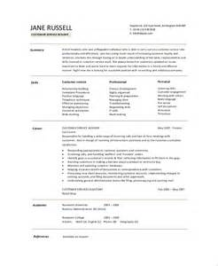 resume summary exle 8 sles in pdf word