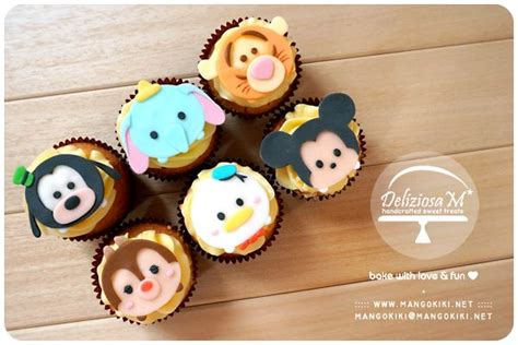 Cake Topper Tsum Tsum Poohfriends tsum tsum cupcakes tsum tsum mesa de