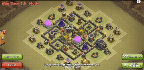 desain layout coc th 5 4 gambar desain base war coc th 6 terbaru blog curan