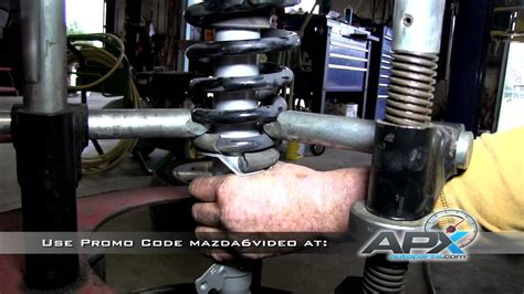 replacement of rear shocks on a 2003 2008 mazda 6 sensen replacement of front struts on a 2003 2008 mazda 6 sensen shocks and struts youtube
