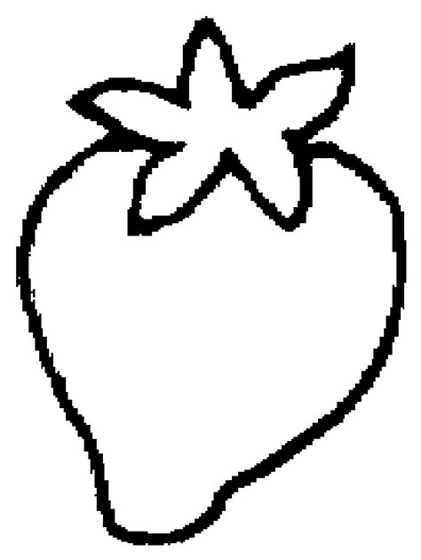 Strawberry Outline Drawing by Strawberry Coloring Page Coloring Home