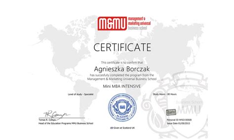 Uno Mini Mba by Mmu Business School A Merchandising It Groupon