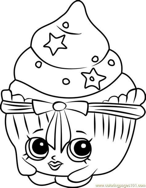 patty cake shopkins coloring page  shopkins coloring
