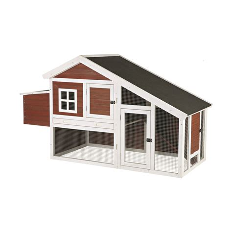 trixie natura pitched roof dog house petco trixie natura peak roof brown chicken coop with outdoor