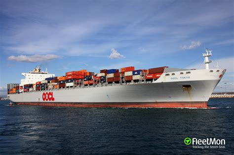 oocl to schedule oocl tokyo container ship imo 9310238