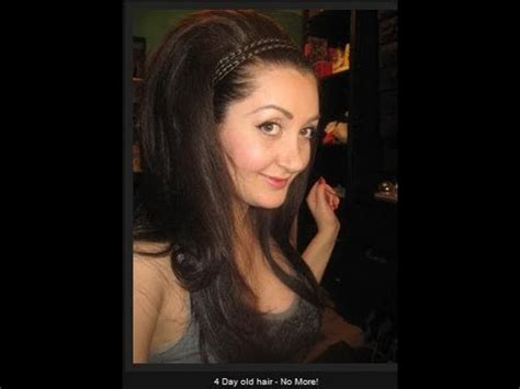oily hair hairstyles youtube 5 quick hairstyles for greasy oily hair youtube