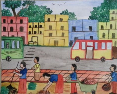 How To Draw A Clean City dr a sajidas on quot my city clean city drawing