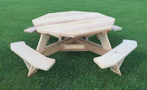 octagon picnic table for sale octagon picnic table for sale octagonal picnic benches aj