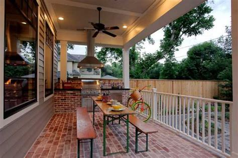 Grilling Porch by Outdoor Bbq Kitchen Islands Spice Up Backyard Designs And