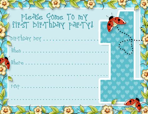 100 free birthday invitation templates you will love