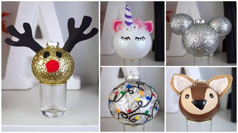name ornaments homemade 7 cheap easy diy ornaments inspired