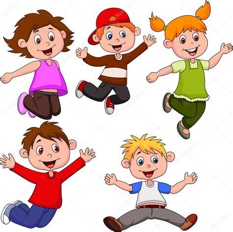 imagenes de niños felices animados dibujos animados de ni 241 os felices archivo im 225 genes