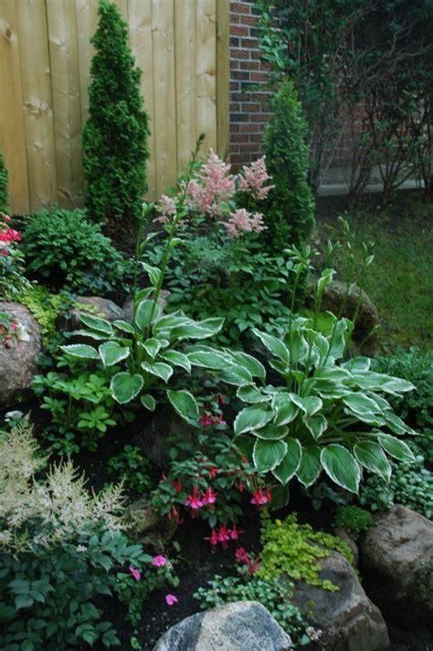 Rock Garden Plants For Shade Shade Garden Plants Astilbes Hostas Fuchsias Creeping Gardens For