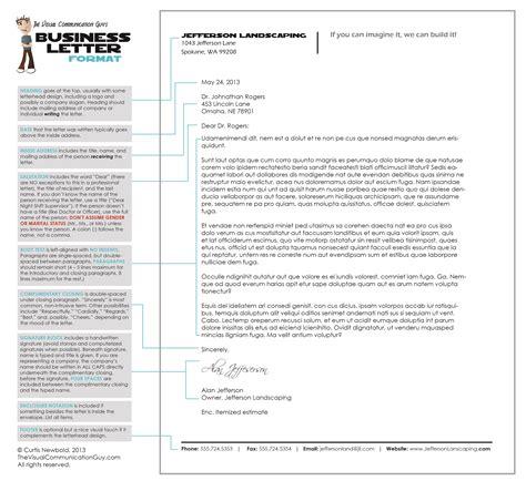 write  letter  business letter format