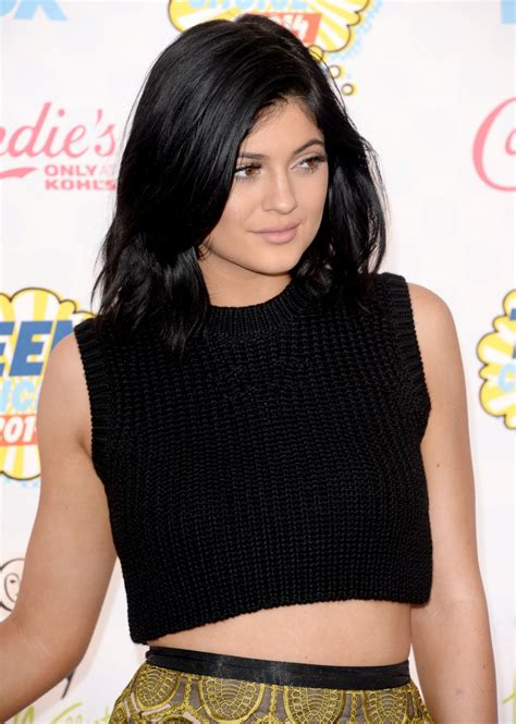 KYLIE JENNER at Teen Choice Awards 2014 in Los Angeles