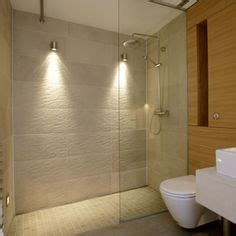 Lights In Shower Area by Small Simple Room On Tiles Cumbria