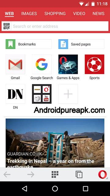 opera mini apk version opera mini apk v18 0 2254 106542 version for android software and apk mod