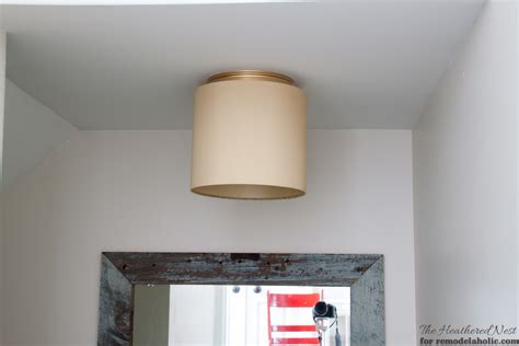 L Shade Makeover by Remodelaholic Ban Your Lights 2 Easy Ways To