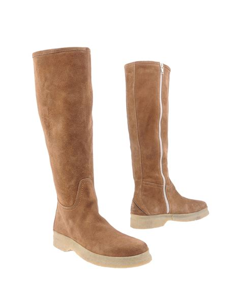 rogers boots roy rogers boots in brown camel lyst