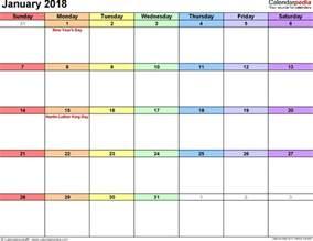 january calendar template january 2018 calendar template free calendar 2017