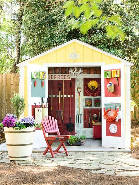 Painting The Shed by Top 15 Coolest Shed Paint