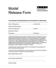 Standard Model Release Form Template by Sle Photography Model Release Form 7 Exles In