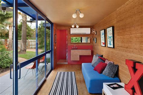 home inside roof design shipping container guest house by jim poteet