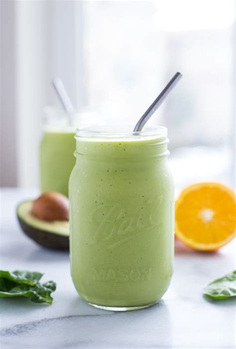 healthy fats for smoothies orange avocado smoothie thyme for health