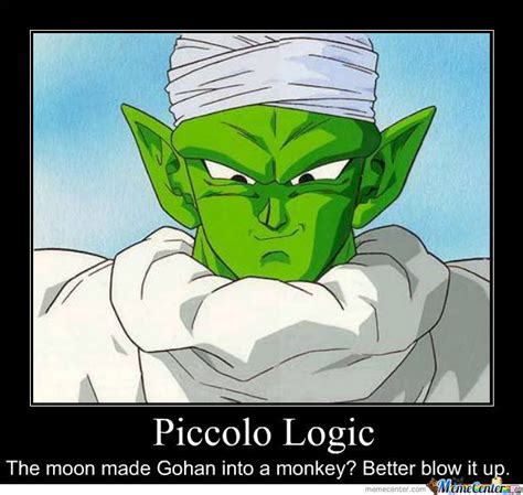 Piccolo Meme - piccolo logic by jgkaka10 meme center