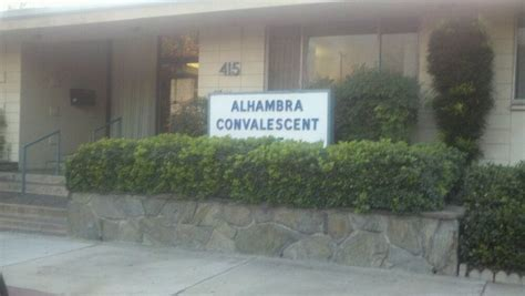 alhambra healthcare wellness centre skilled nursing