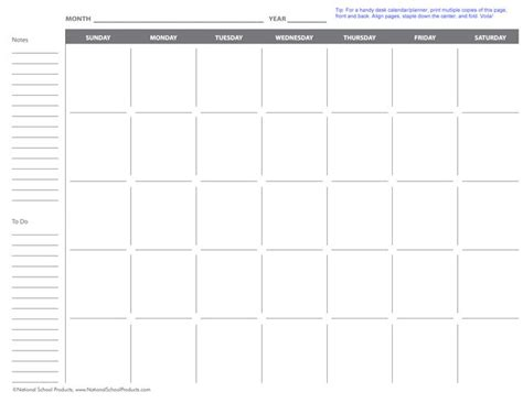 printable monthly school calendars 16 best images about free teacher printables on pinterest