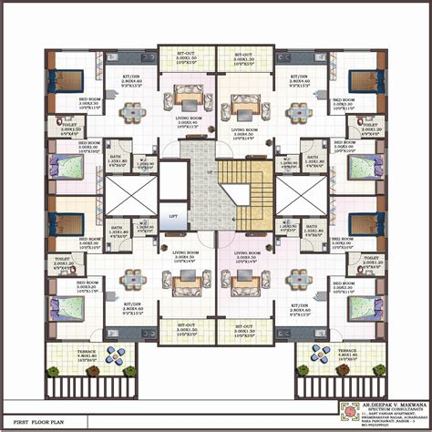 apartment house plans elevation excellent designs joy studio design gallery